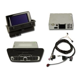 Retrofit kit MMI3G navigation plus Audi Q3 8U - active speakers