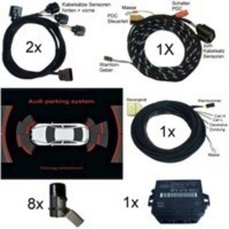 Komplett-Set APS+ plus (optische Anzeige MMI) Front & Heck für Audi A6 4F - ab Mj. 2007, Limousine