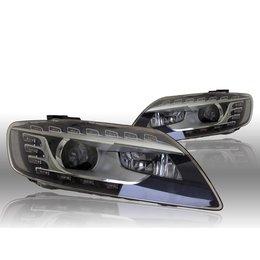 Bi-Xenon-Scheinwerfer LED DTRL - Audi Q7 4L - L & R - w / o corning Licht