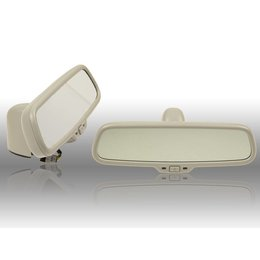 Original automatic. dimming interior mirror with compass - Audi