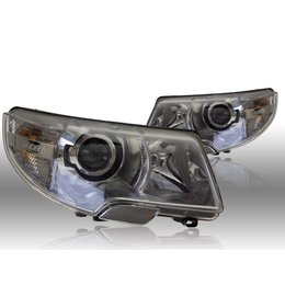 Bi-Xenon Headlights - Skoda SuperB L&R - complete