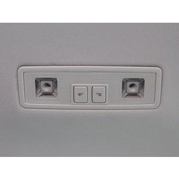 LED-Leseleuchte hinten - Grau
