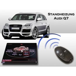 Retrofit-set Auxiliary heating Audi Q7 - MMI2G