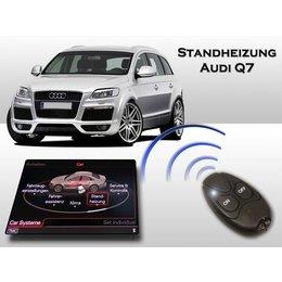 Nachrüstset Standheizung Audi Q7 4L - MMI3G