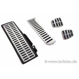Pedalen / voetsteun - roestvrij staal - handgeschakelde transmissie