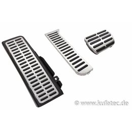 Pedalen / voetsteun - roestvrij staal - automatische transmissie