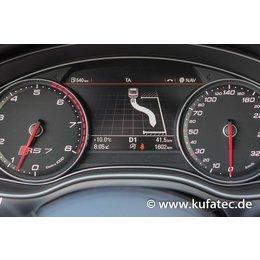 Parklenkassistent mit Umgebungsanzeige für Audi A7 4G - mit Parkdistanzkontrolle