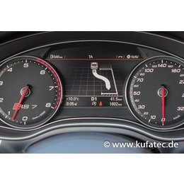 Complete Set park steering assistent Audi A6 4G - park assis. baten.