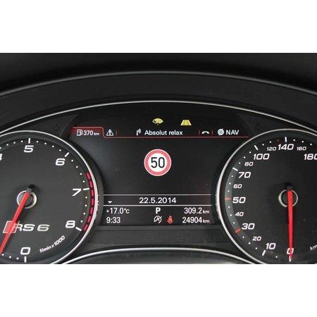 Active Lane Assist incl erkenning verkeersbord Audi A8 4H