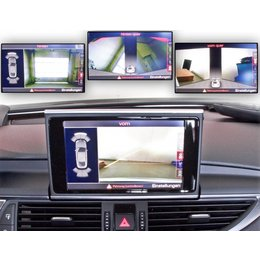 Complete bundle camera front - rear Audi A6 4G - allroad from 2015 -