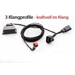 Kufatec Sound Booster Pro Active Sound für Golf 7 VII GTD