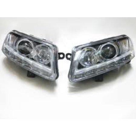 Bi-Xenonscheinwerfer Set mit LED-Tagfahrlicht für Audi A6 4F - Linksverkehr