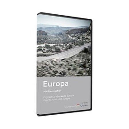 Audi MMI 3G Navigation Update-Europe 2016