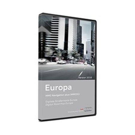 Audi Navigatie Update MMI 3G Plus, Europa 2016