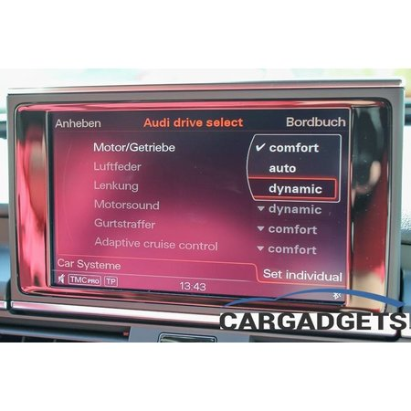 Complete set actieve Sound incl Sound Booster Audi A6 allroad 4G
