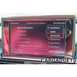 Complete set active Sound incl Sound Booster Audi A6, A7 4G - until my. 2014 -