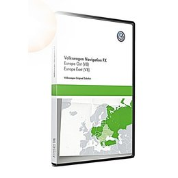 VW Navigatie update, Oost-Europa (V9) 3C8051884DA