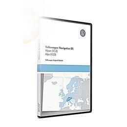 VW Navigationsupdate RNS 300 Alpen (V13) TPC116E1ALP