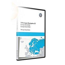 VW Navigatie update, Oost-Europa (V13) 1T0051859AL