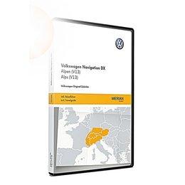 VW Navigatie update, RNS CD, Alpen (V13) 3B0051884KR