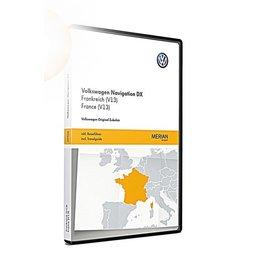 VW Navigation update RNS CD, France (V13)