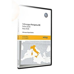 VW Navigatie update, RNS CD, Italië (V13) 3B0051884LD