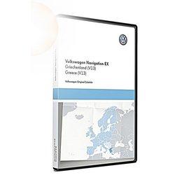 VW Navigatie update, RNS 300, Griekenland (V13) TPC116E1GRI