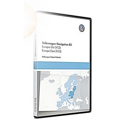 VW Navigationsupdate RNS 300 Osteuropa (V13) TPC116E1OEU