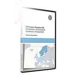 VW Navigation update, RNS 300, Scandinavia / Finland (V13)