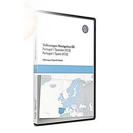 VW Navigatie update, RNS 300, Portugal / Spanje (V13) TPC116E1SPP