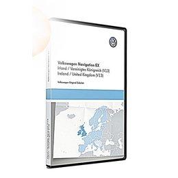 VW Navigatie update, RNS 300, Ierland / Groot-Brittannië (V13) TPC116E1UKI