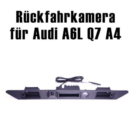 CCD Rueckfahrkamera Audi A3 A4 A6 Q7 in Griffleiste auf fuer MMI 2G