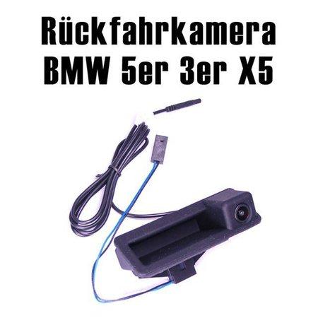 CCD achteruitrijcamera BMW 3 Serie 5 Serie X3 X5 in de handgreep