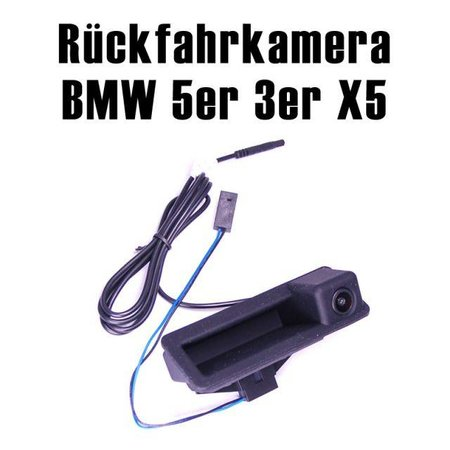 CCD Rueckfahrkamera BMW 3er 5er X3 X5 in Griffleiste
