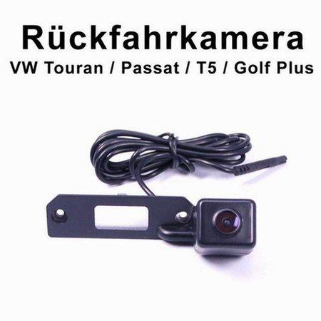 CCD achteruitrijcamera voor VW Touran Passat Jetta Caddy Golf Plus