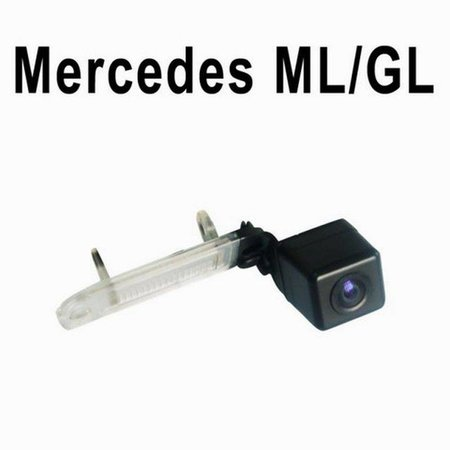 CCD Rueckfahrkamera in Kennzeichenleuchte Mercedes ML GL R
