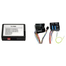 Video Interface for Rear Camera for PEUGEOT and CITROEN with RT3 / RT4 navigation