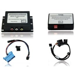Multimedia Interface for BMW E65 iDrive Professional Navigation (with factory TV tuner connection) incl. Video release