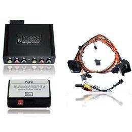 Multimedia Interface voor BMW iDrive Professional (CCC met in de fabriek TV tuner) navigatie incl. Video vrijlating