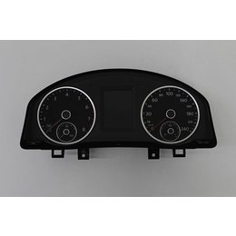 VW Tiguan 5N Installer Panel KM Counter Color Display 5N0920873B