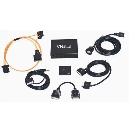 Audio Interface voor Audi MMI 2G Hoog - iPod / iPhone 3, 4, 5, 6 / USB / AUX / Bluetooth A2DP AMI