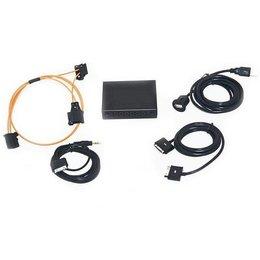 Audio Interface für Audi MMI 2G hoch - iPod / iPhone 3, 4, 5 und 6 / USB / AUX / A2DP neue AMI / Adapter Iphone 5 und 6