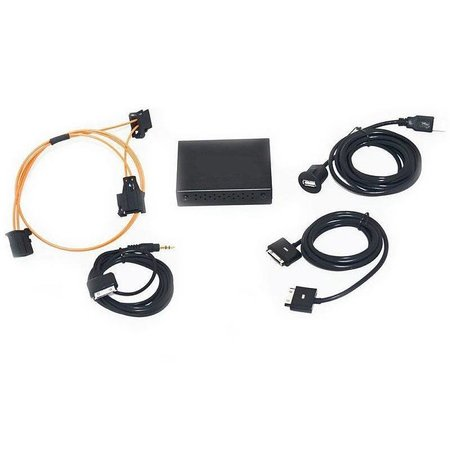 Audio Interface voor Audi MMI 2G Hoog - iPod / iPhone 3, 4, 5 en 6 / USB / AUX / A2DP nieuwe AMI / Adapter Iphone 5 en 6