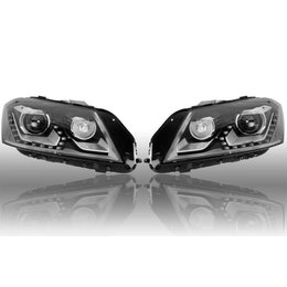 Volkswagen Set front XENON LED headlights VW EOS 1Q0 1Q1 941 751 C 941 752 C