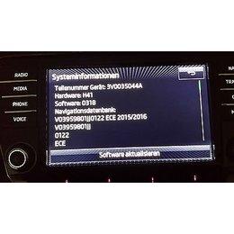 Skoda Navigation  Octavia III 3V0 035 044 B