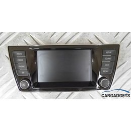 Skoda Display scherm Monitor  Fabia III 6V0 919 604