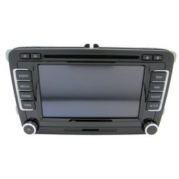 Volkswagen Navigatiesysteem  RNS 510 A 1T0 035 686 A - 1T0035686A LED DAB