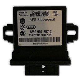 Volkswagen AFS control unit - Audi - VW - Skoda 5M0907357F - headlight range control and cornering light LWR