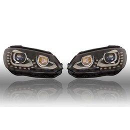 VW Bi-Xenon verlichting LED DTRL - Upgrade - VW Tiguan 2012