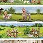 Creatief Art Krimpfolie Hummel 01